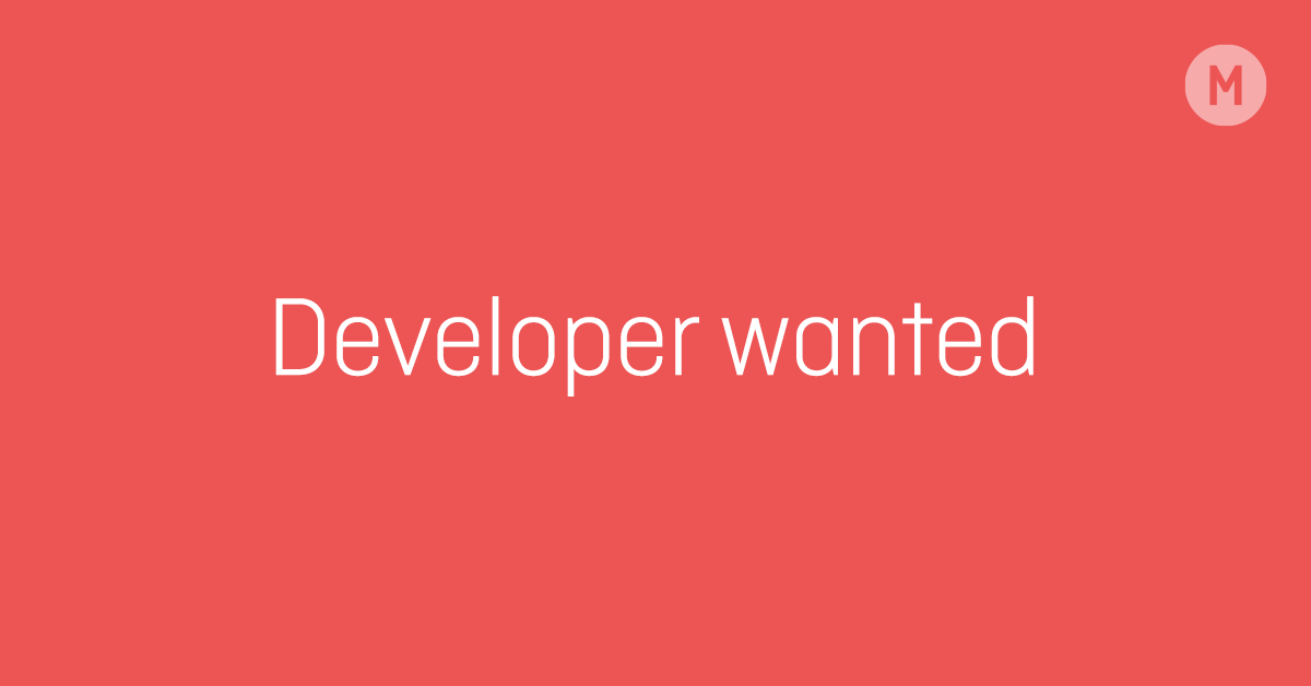 Developer Wanted